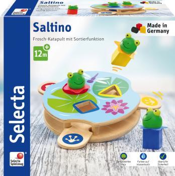 Pingo Selecta 62071 Schiebefigur Holzspielzeug