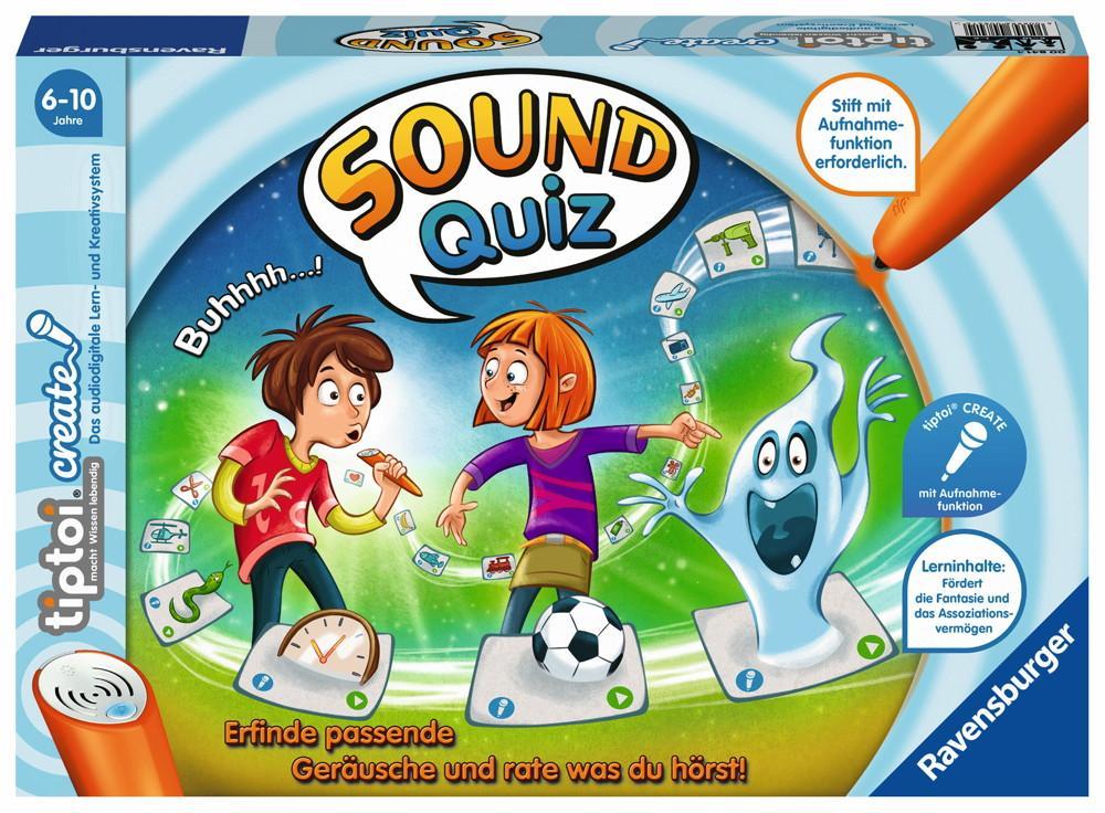 Ravensburger tiptoi Lernspiel Create Sound Quiz 00841