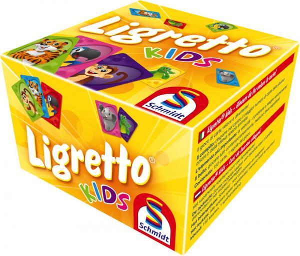 Schmidt Spiele Kartenspiel Aktionsspiel Ligretto Kids 01403