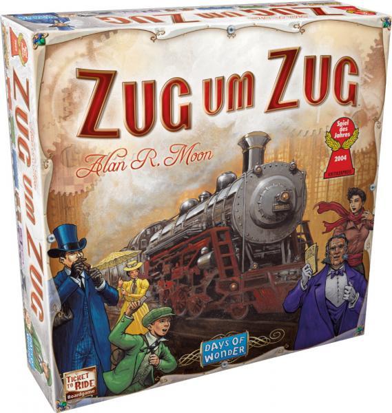Days of Wonder Familienspiel Strategiespiel Zug um Zug USA 200060