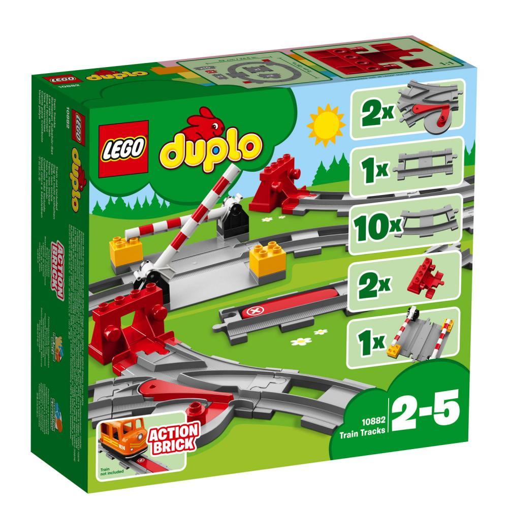 LEGO® DUPLO® Eisenbahn Eisenbahn Schienen 23 Teile 10882