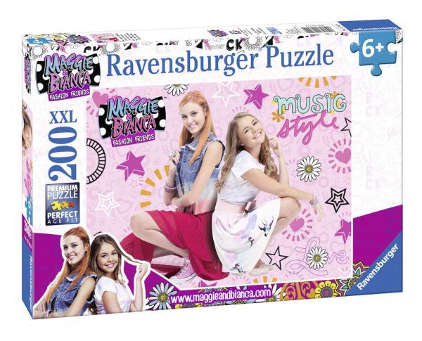 200 Teile Ravensburger Kinder Puzzle XXL Maggie und Bianca Freundschaft und Musik 12742
