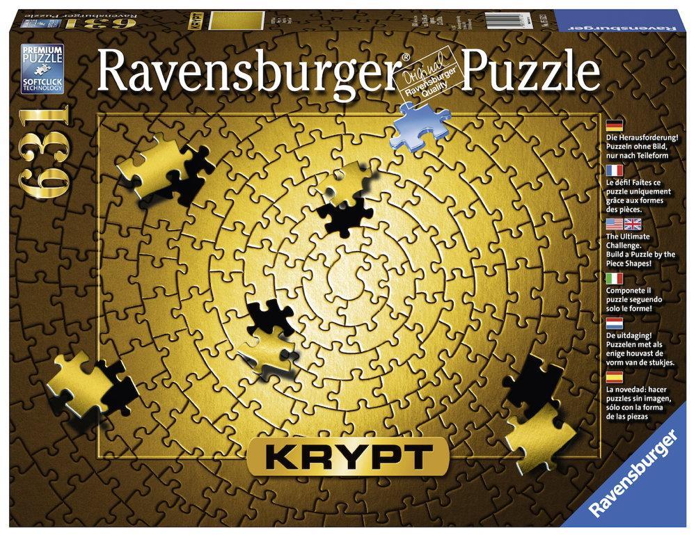 631 Teile Ravensburger Puzzle Krypt Gold 15152