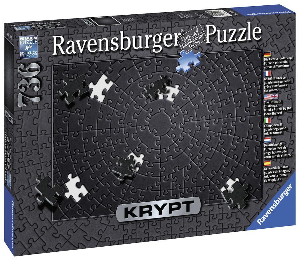 736 Teile Ravensburger Puzzle Krypt Black 15260