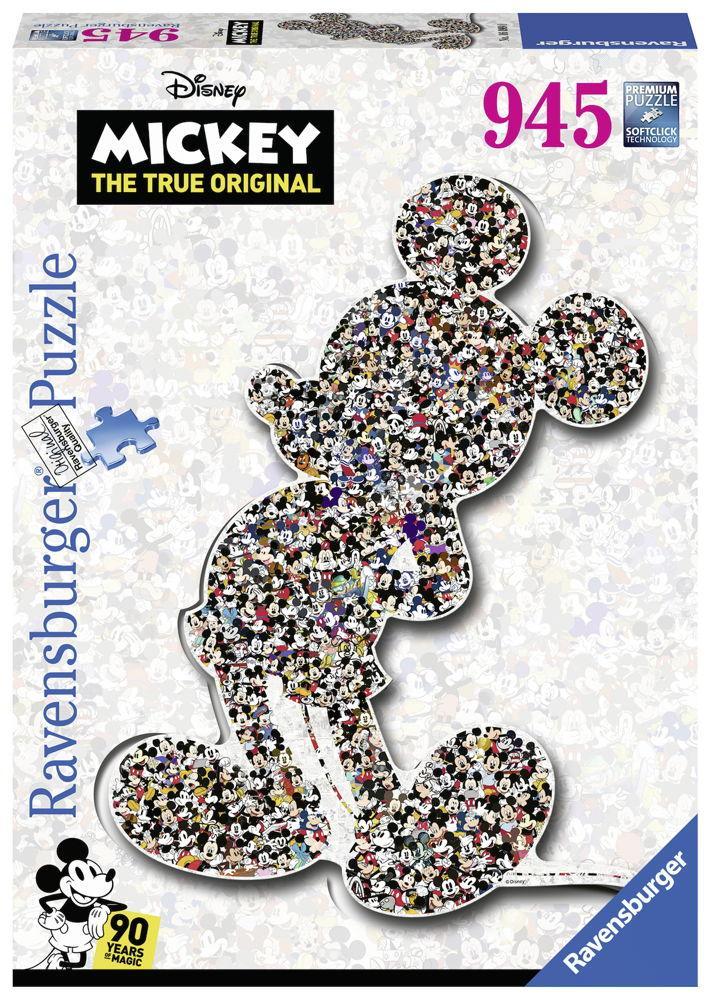 945 Teile Ravensburger Puzzle Disney Mickey Maus Shaped Mickey 16099