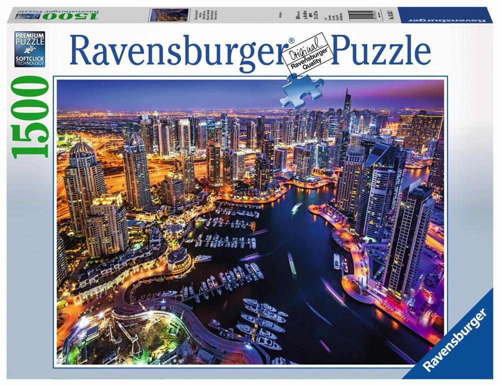 1500 Teile Ravensburger Puzzle Dubai am Persischen Golf 16355
