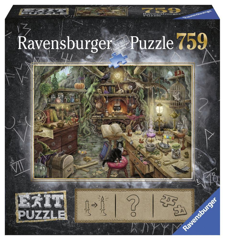 759 Teile Ravensburger Puzzle EXIT Hexenküche 19952
