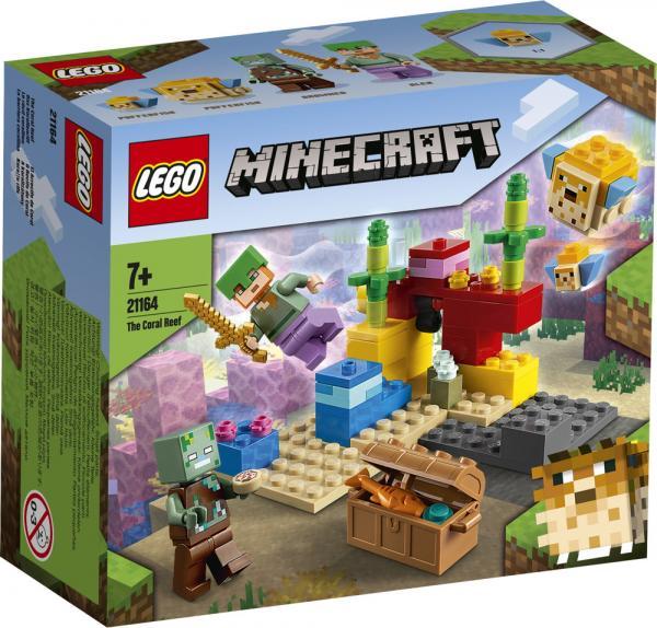 LEGO® Minecraft™ Das Korallenriff 92 Teile 21164