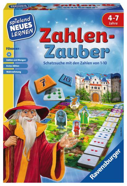 Ravensburger Spielend Neues Lernen Zahlen-Lernspiel Zahlen-Zauber 24964