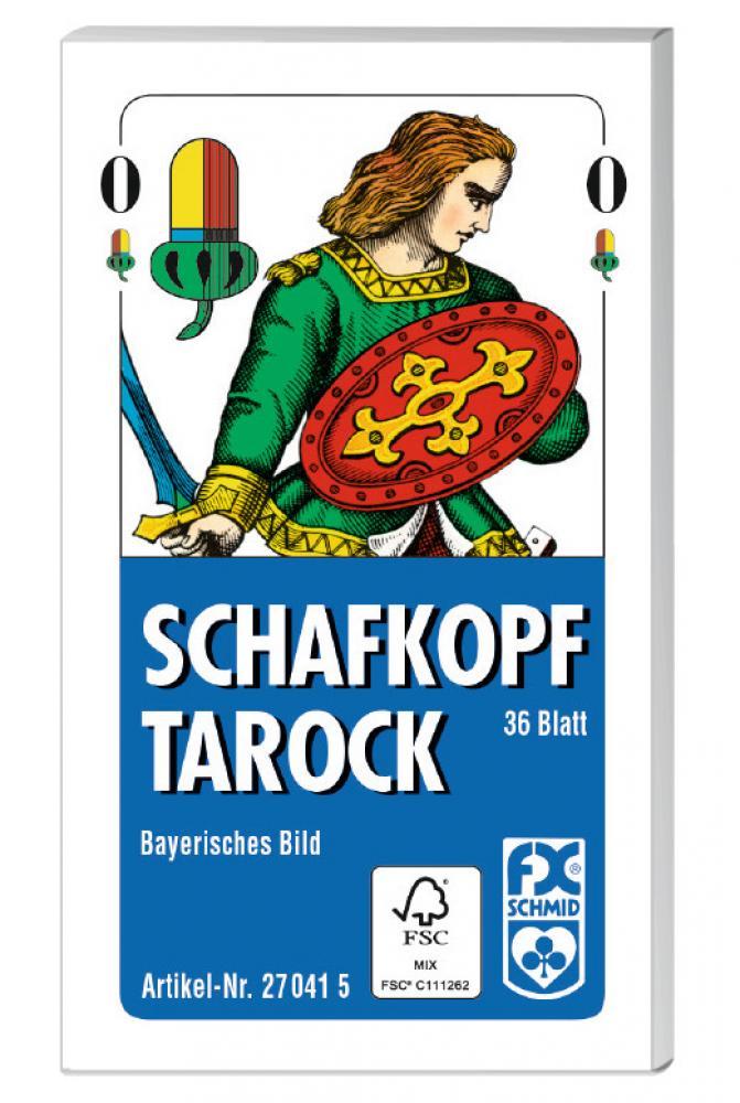 36 Blatt Ravensburger FX Schmid Spielkarten Schafkopf Tarock Bayerisches Bild 27041