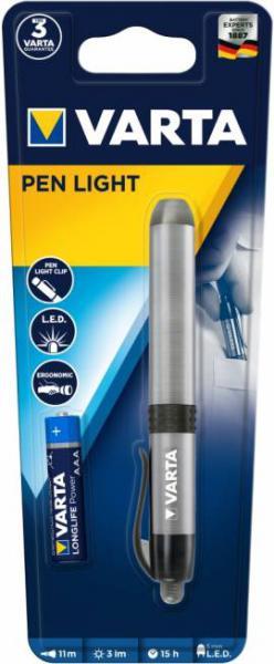 Varta Stiftlampe LED Pen Light inkl. AAA Batterie 16611 16611101421