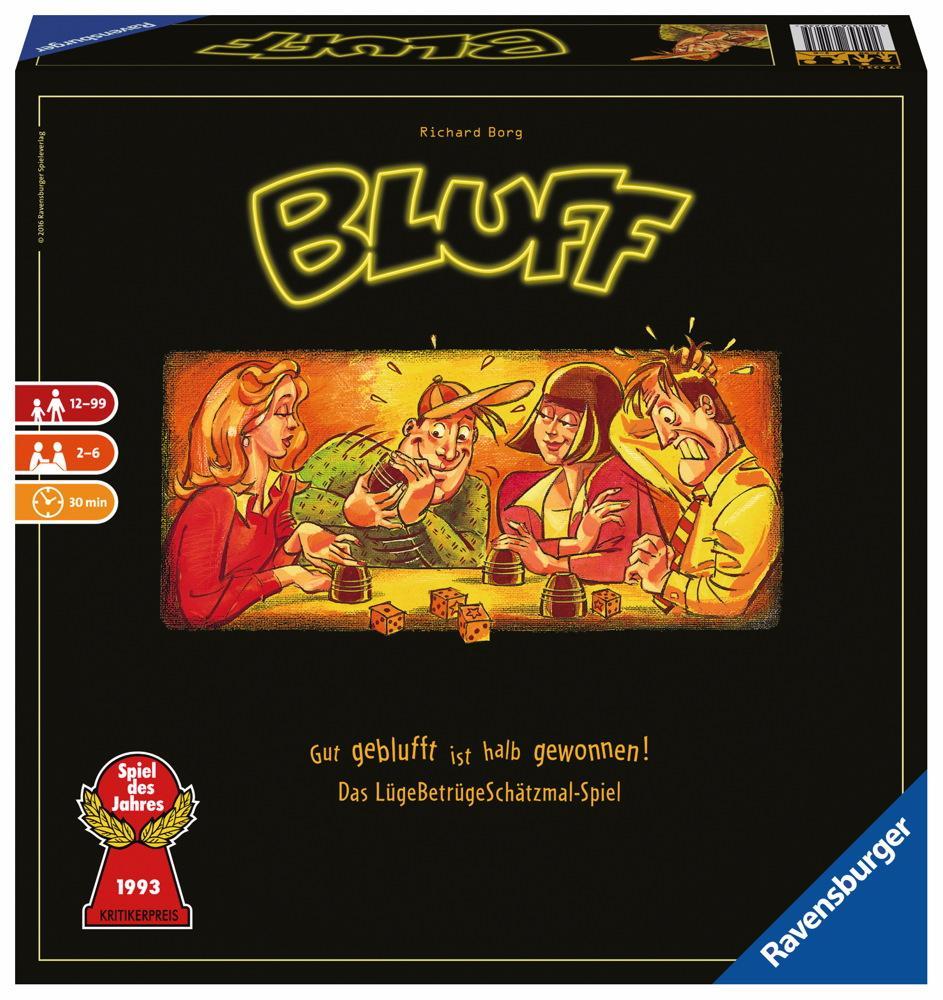 Ravensburger Familienspiel Würfelspiel Bluff 27223