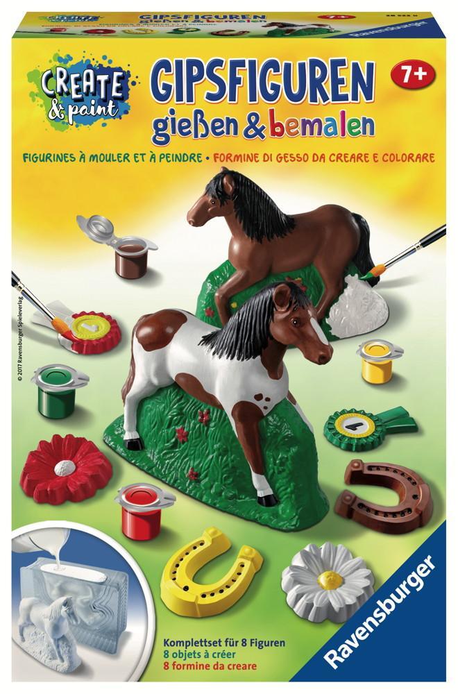 Ravensburger Creation Create & Paint Gipsfigur Pferd 28522