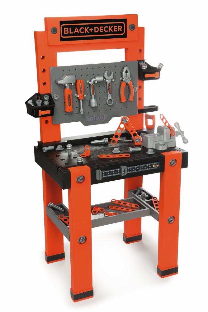 Smoby Spielwelten Werkstatt Black & Decker Werkbank 7600360700