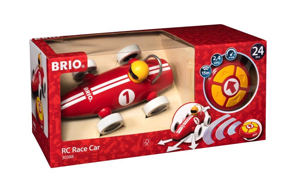Brio Kleinkindwelt Rollspielzeug RC Rennwagen 2 Teile 30388