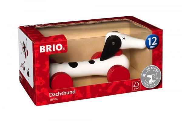 Brio Kleinkindwelt Nachziehspielzeug Nachzieh Dalmatiner 30404