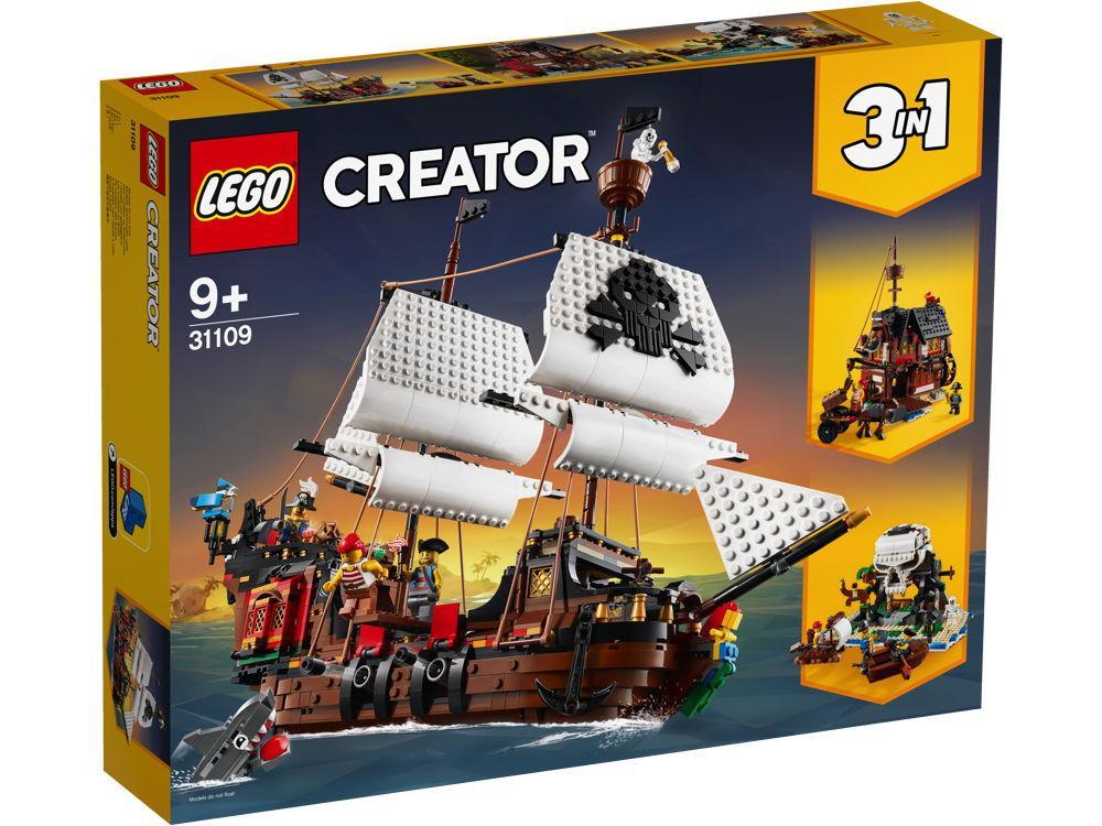 LEGO® Creator Piratenschiff 1264 Teile 31109