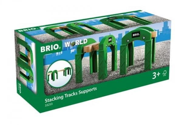 Brio World Eisenbahn Brücke Stapelbares Brückensystem 2 Teile 33253