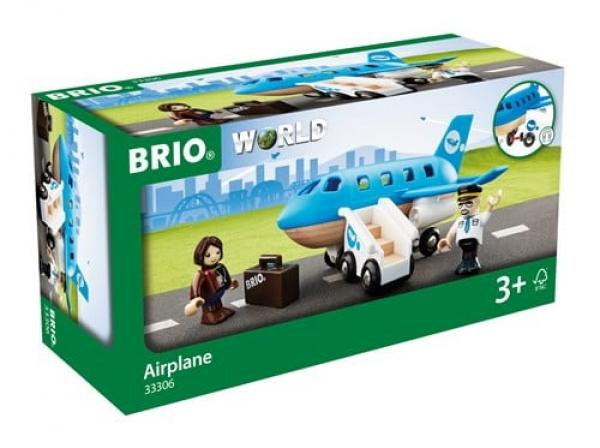 Brio World Eisenbahn Flugzeug Blaues Flugzeug 5 Teile 33306