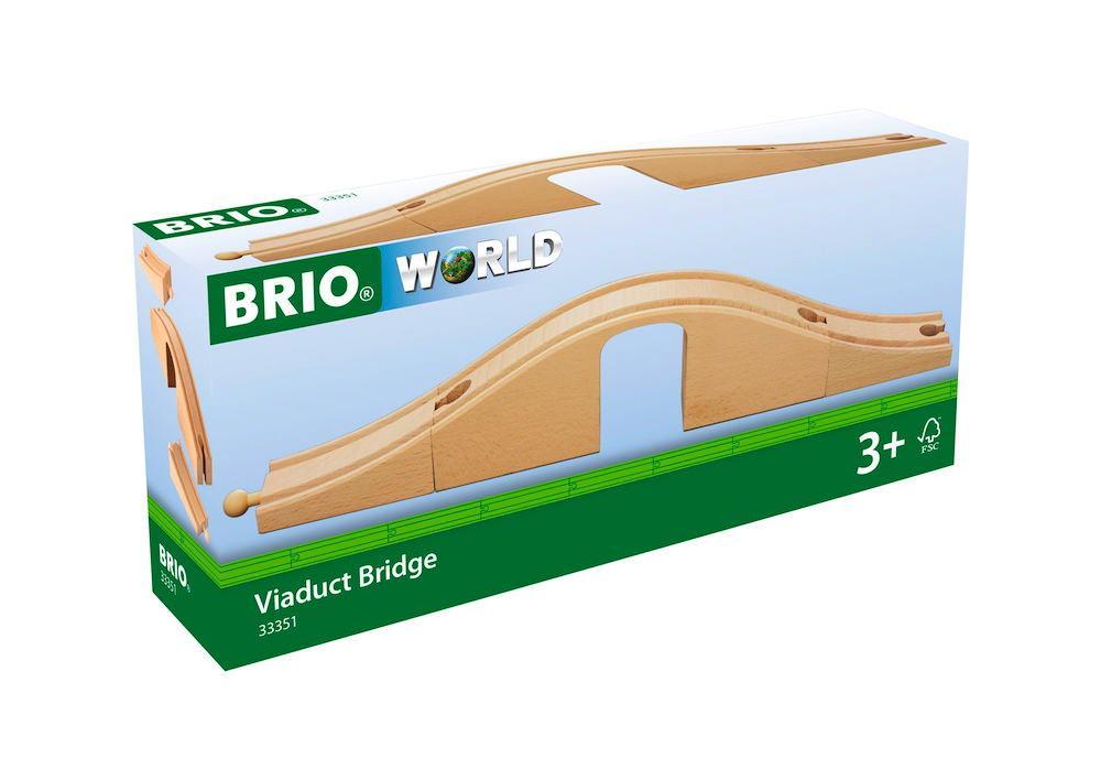 Brio World Eisenbahn Brücke Unterführung 3 Teile 33351