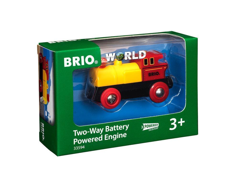 Brio World Eisenbahn Lok Batterielok Gelbe 33594