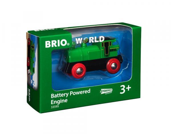 Brio World Eisenbahn Lok Speedy Green Batterielok 33595