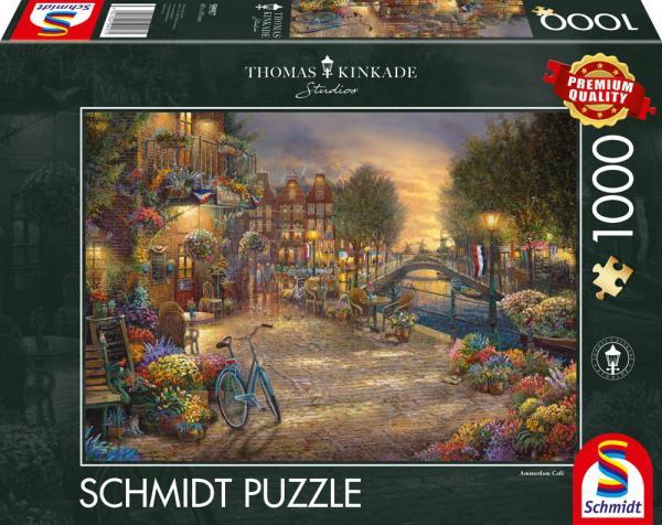 1000 Teile Schmidt Spiele Puzzle Thomas Kinkade Amsterdam 59917