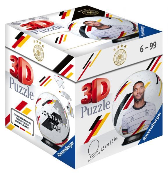 54 Teile Ravensburger 3D Puzzle Ball DFB-Team Jonathan Tah 11190