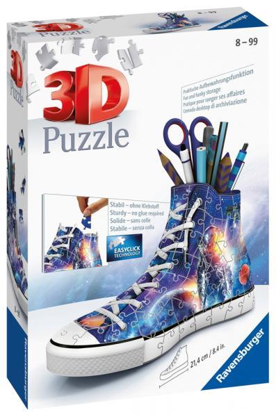 108 Teile Ravensburger 3D Puzzle Sneaker Astronauten im Weltall 11251