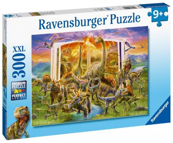 300 Teile Ravensburger Kinder Puzzle XXL Lexikon aus der Urzeit 12905