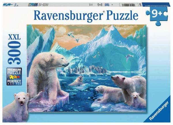 300 Teile Ravensburger Kinder Puzzle XXL Im Reich der Eisbären 12947