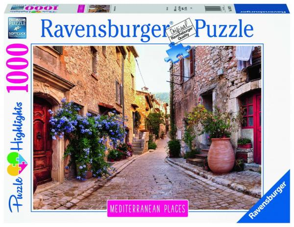 1000 Teile Ravensburger Puzzle Mediterranean France Frankreich 14975