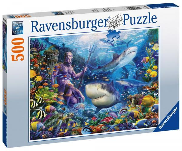 500 Teile Ravensburger Puzzle Herrscher der Meere 15039