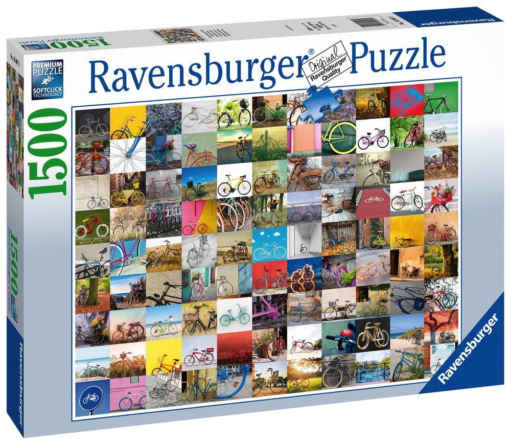 1500 Teile Ravensburger Puzzle 99 Fahrräder und mehr... 16007