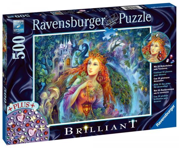500 Teile Ravensburger Puzzle Brilliant Magischer Feenstaub 16594