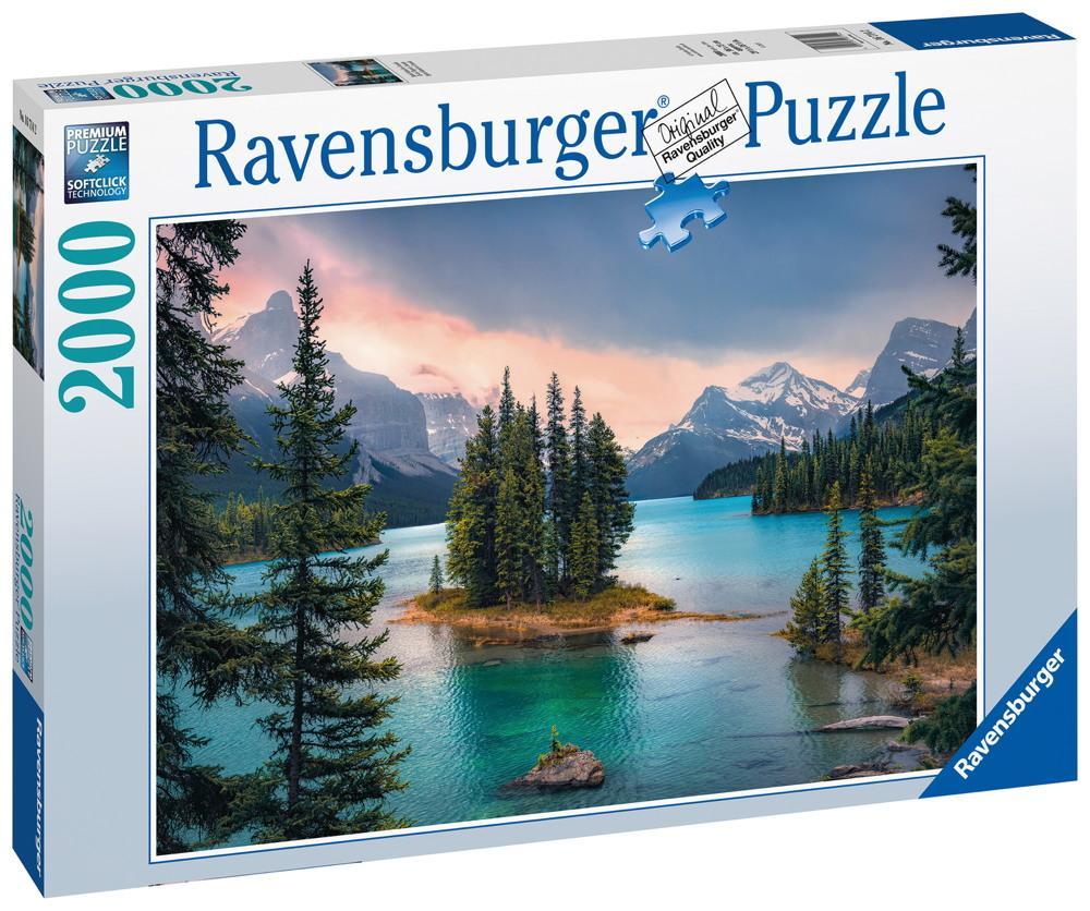 "2000 Teile Ravensburger Puzzle ""Spirit Island"" Kanada 16714"