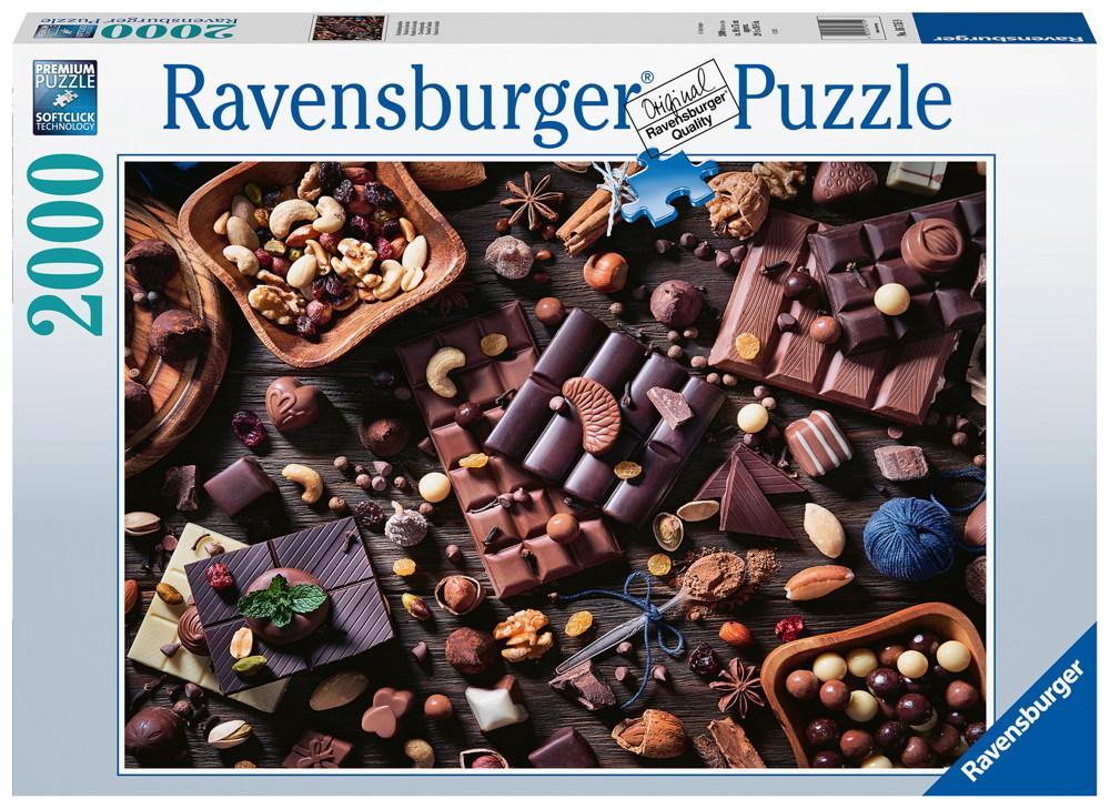 2000 Teile Ravensburger Puzzle Schokoladenparadies 16715