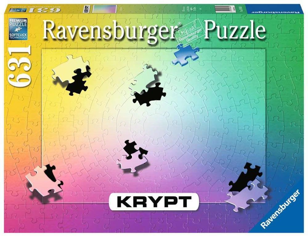 631 Teile Ravensburger Puzzle Krypt Gradient 16885