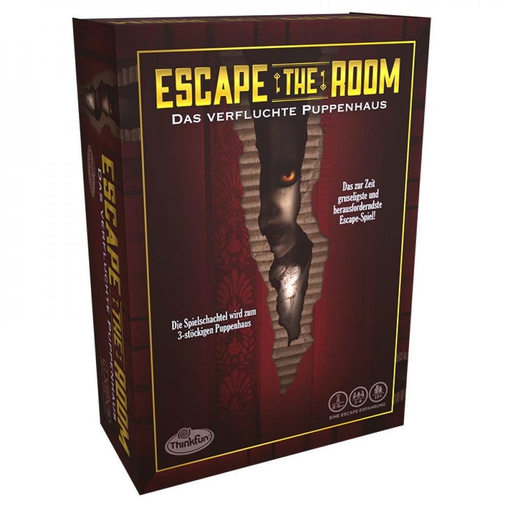 Thinkfun Familienspiel Logikspiel Escape the Room verfluchte Puppenhaus 76371