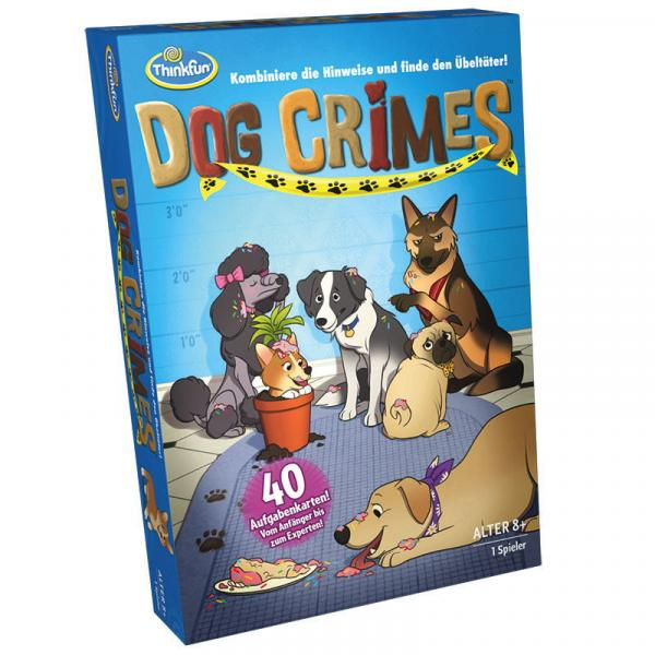 ThinkFun Familienspiel Detektivspiel Dog Crimes™ 76413