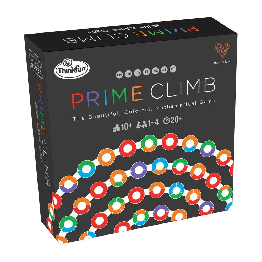ThinkFun Familienspiel Strategiespiel Mathematik Prime Climb 76429