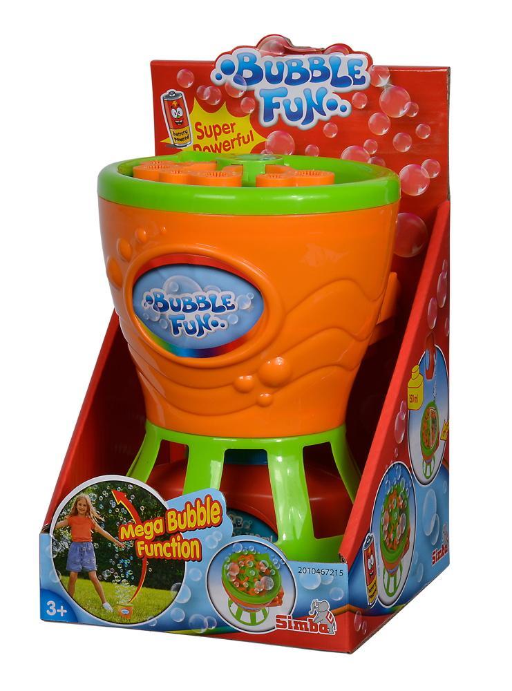 Simba Outdoor Spielzeug Seifenblasen Seifenblasenmaschine Bubble Fun 107286025