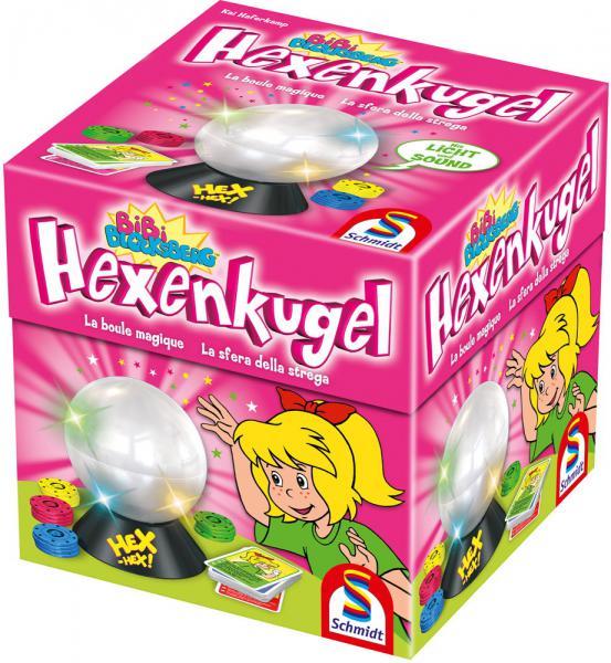 Schmidt Spiele Kinderspiel Aktionsspiel Hexenkugel Bibi Blocksberg 40458