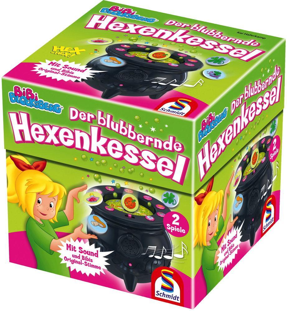 Schmidt Spiele Kinderspiel Merk- und Suchspiel Der blubbernde Hexenkessel 40581