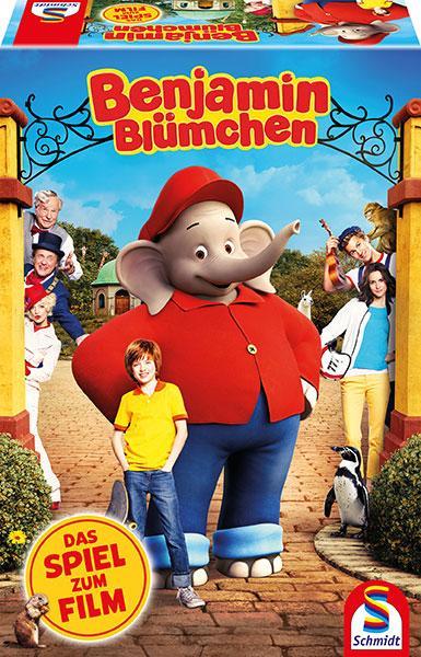 Schmidt Spiele Kinderspiel Detektivspiel Benjamin Blümchen Das Spiel zum Film 40589