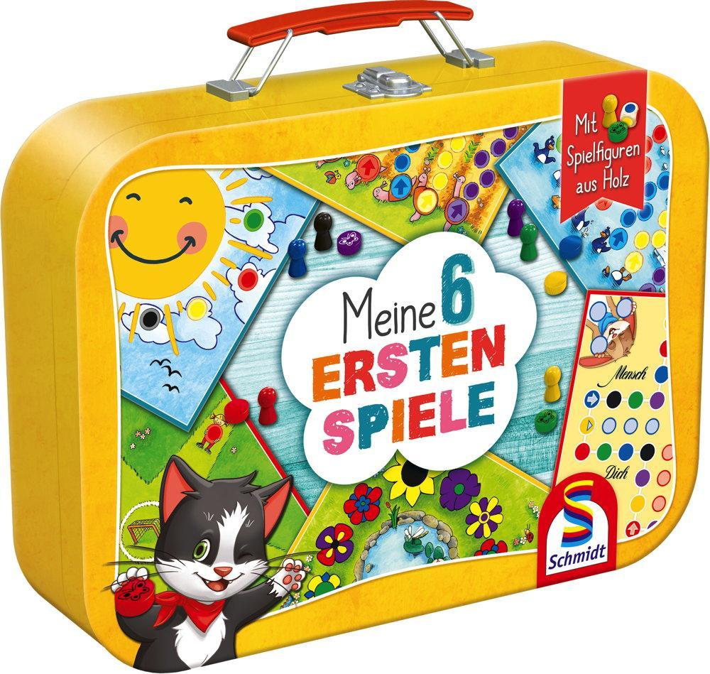 Schmidt Spiele Kinderspiel Spielesammlung Meine 6 ersten Spiele 40591