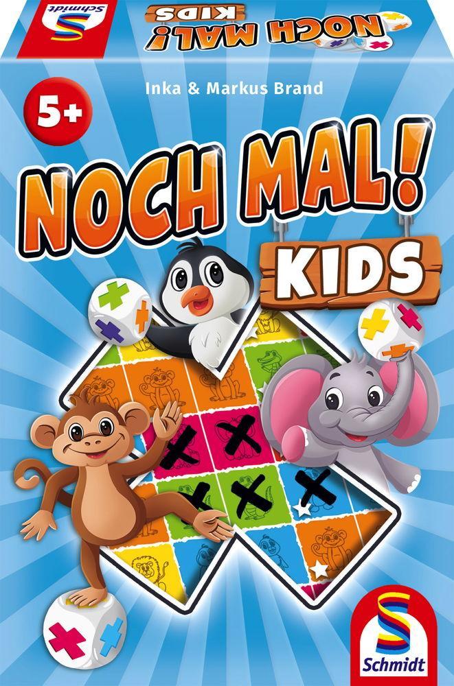 Schmidt Spiele Kinderspiel Würfelspiel Noch mal! Kids 40610