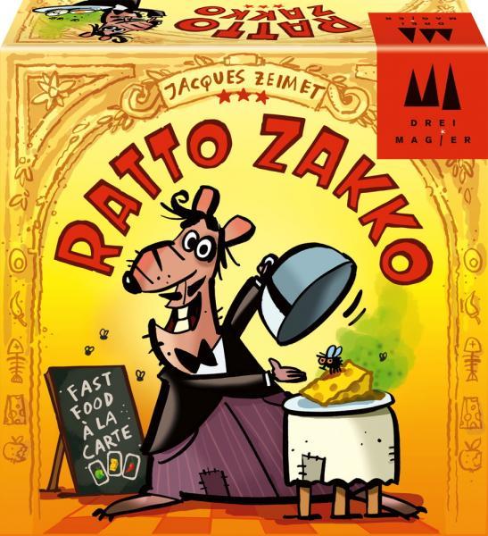 Schmidt Spiele Drei Magier Kinderspiel Aktions- & Geschicklichkeitsspiel Ratto Zakko 40884