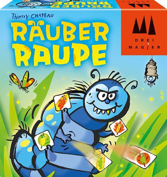 Drei Magier Kartenspiel Kartenlegespiel Räuber Raupe 40886