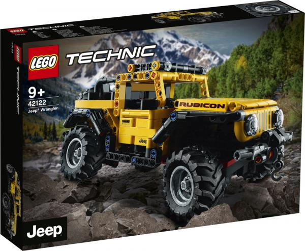 LEGO® Technic Jeep® Wrangler 665 Teile 42122